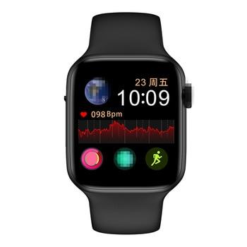 Reloj inteligente IWO W34 con llamada Bluetooth, 44mm, 5 relojes inteligentes, Monitor de frecuencia cardíaca ECG para hombres y mujeres, rastreador de actividad VS IWO 8 IWO 12 B57