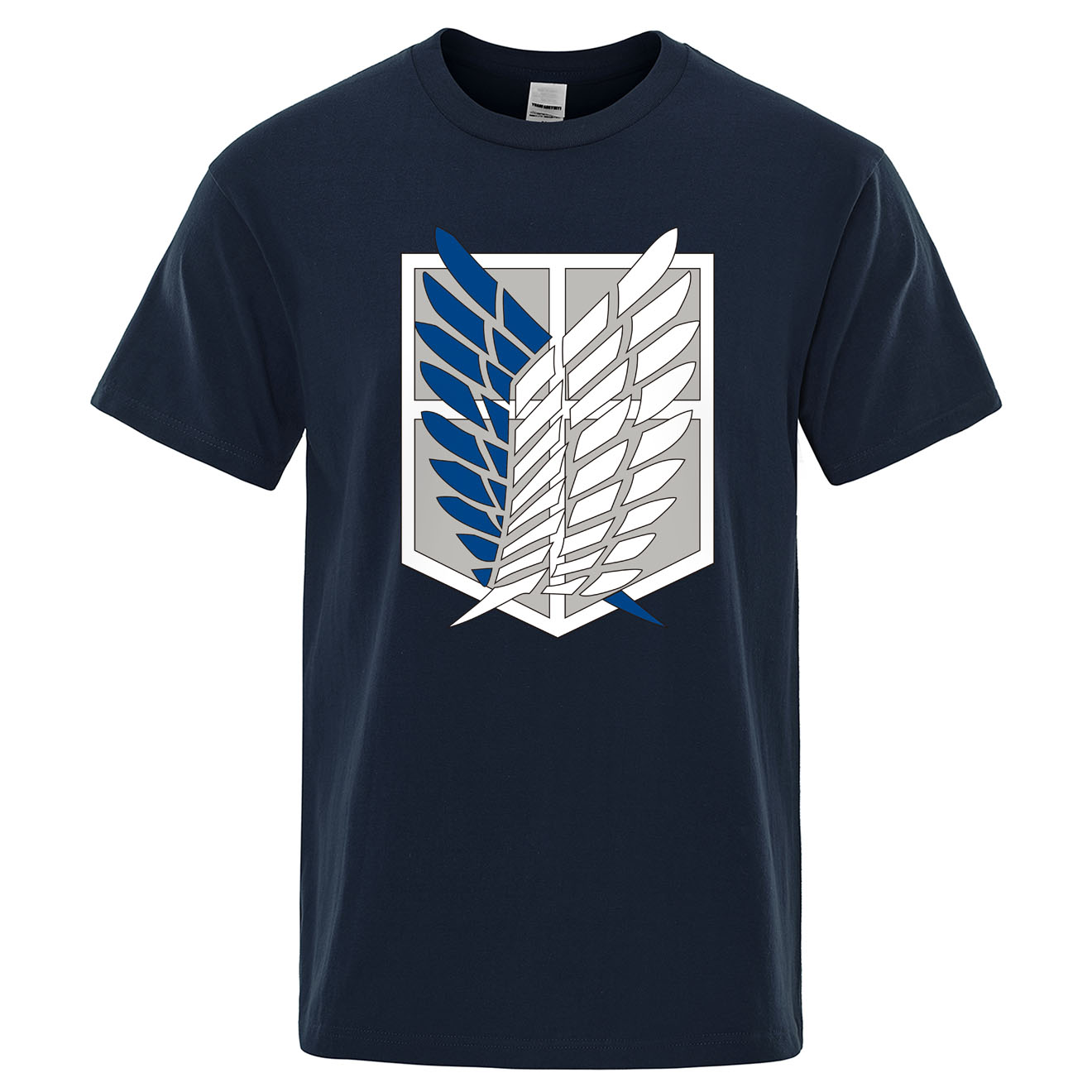 Attack On Titan T Shirt Wings Of Freedom Mikasa T-shirts Mens Japanese Anime Tshirt Men Short Sleeve Summer Cotton Tees Tops Man