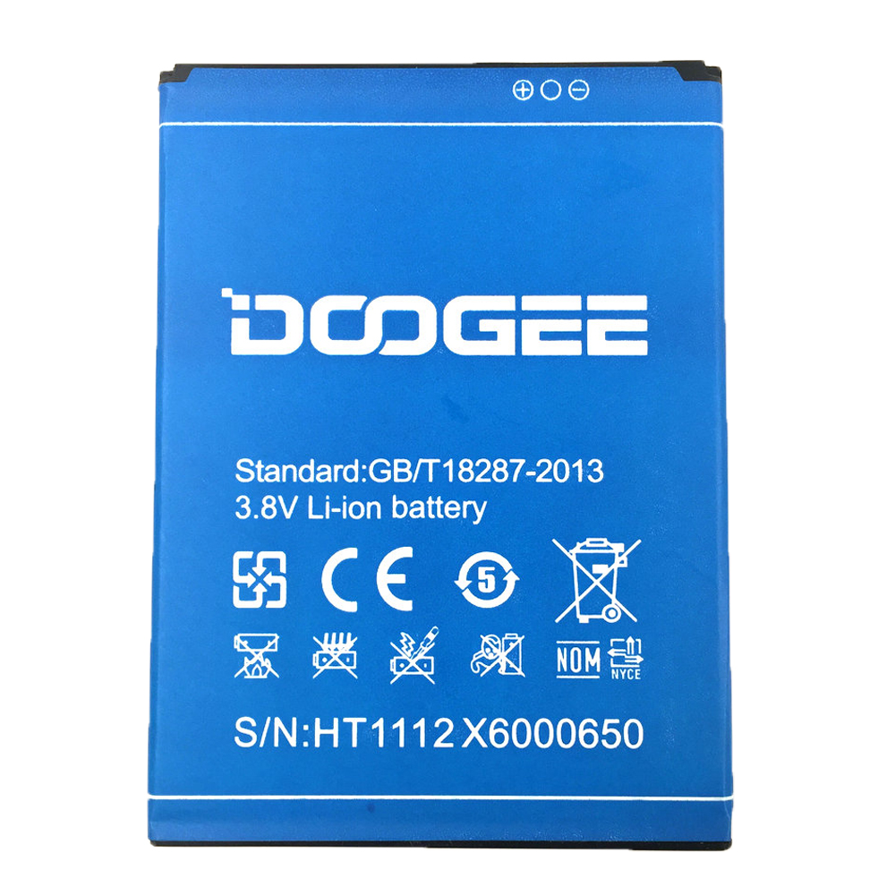 Dinto Oringinal 3000mAh <font><b>3.8V</b></font> DOOGEE X6 Rechargeable <font><b>Lithium</b></font> Li-<font><b>ion</b></font> Smart Phone <font><b>Battery</b></font> for for DOOGEE X6 pro X6 Mobile Phone image