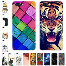 Voor ZTE Nubia M2 Case Cartoon Printing Soft TPU Telefoon Cover Voor ZTE M2 NX551J Case Siliconen Fundas Voor Nubia m2 Cover Coque(China)