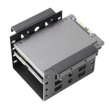 2.5inch to 3.5inch HDD Case SATA SAS Hard Drive Adapter Mounting Bracket Dock SSD Tray Holder 3.5