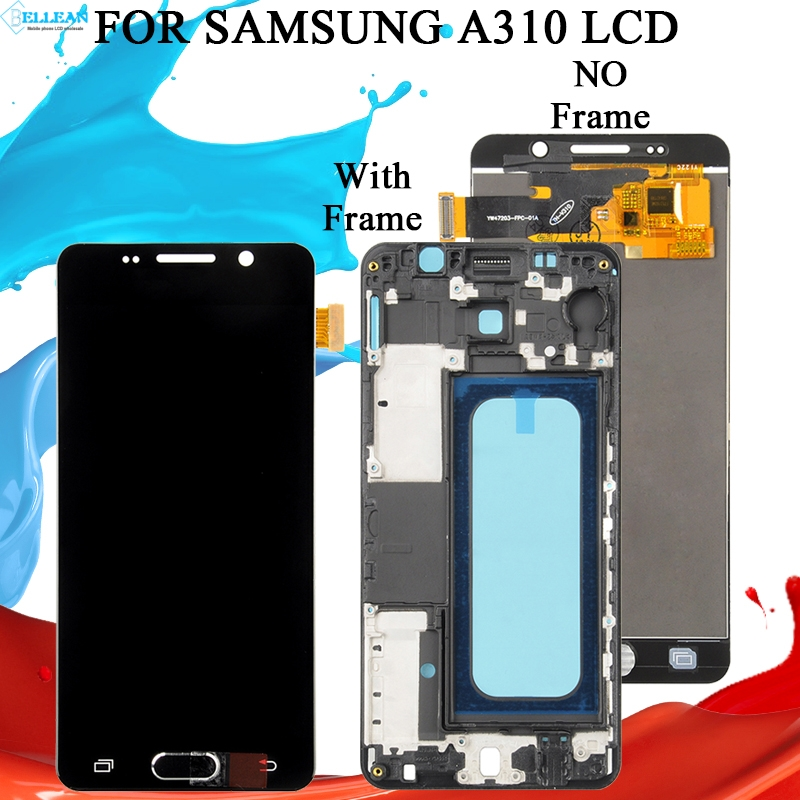 Catteny 1Pcs 2016 A3 <font><b>Lcd</b></font> Touch Screen Digitizer Montage Für Samsung Galaxy <font><b>A310</b></font> <font><b>Lcd</b></font> A310F Display Screen Panel Freies verschiffen image