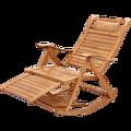 Chaise à bascule en bambou adulte fauteuil à bascule pliant inclinable maison sieste chaise Cool sieste paresseux chaise personnes âgées chaise de loisirs
