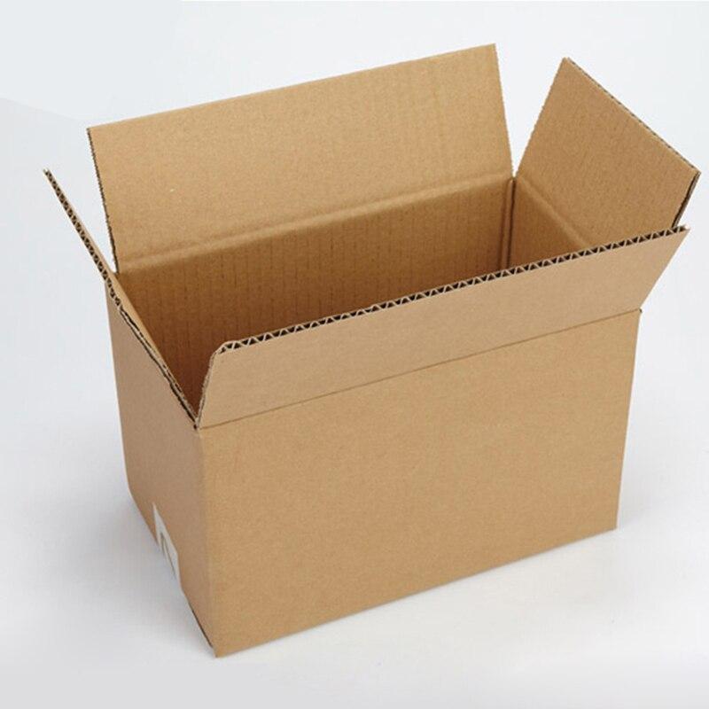 20Pcs Corrugated Carton Kraft Paper Corrugated Boxes Small Box Mailer 3-Layers Paper Packaging Box Logistics Supplies 5 Sizes