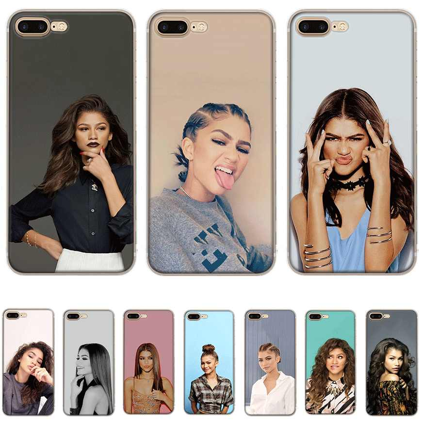 Mobile Phone Case tpu for iPhone 11 Pro X XS Max iPhone XR 6 6S 7 8 Plus 5 5S SE Cover Zendaya Coleman
