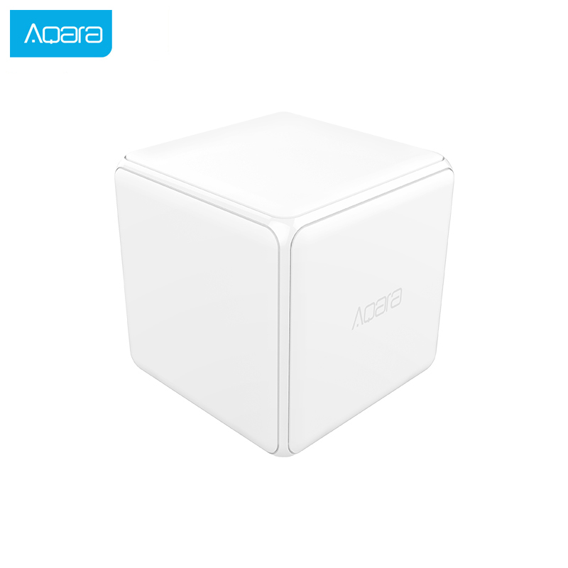Aqara Magic Cube Controller Smart Remote Control Zigbee Version Controll Six Actions Smart Home Device Work With Mijia Home App