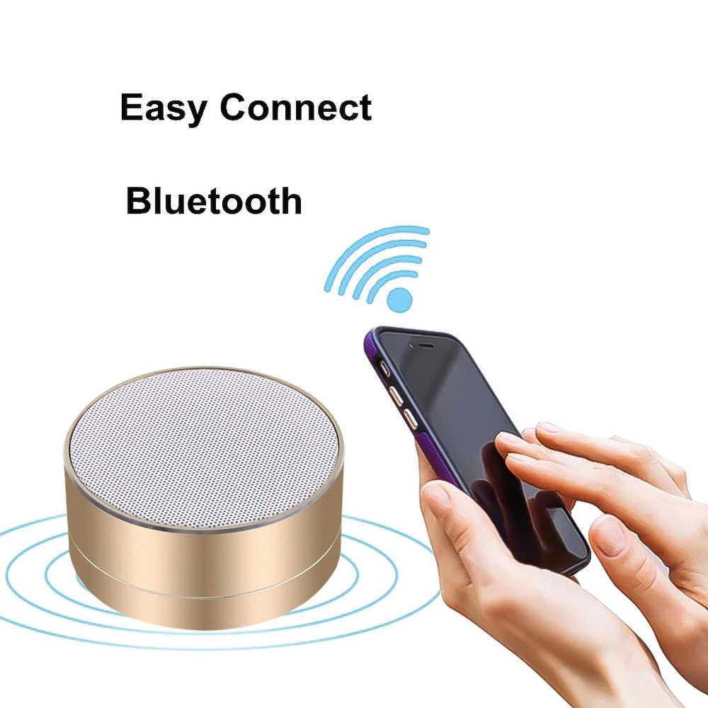 Портативная беспроводная мини bluetooth-колонка Kebidu, красочное освещение, 360 градусов, стерео звук, USB, TF карта, для телефона, динамик s