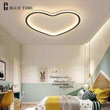 Modern Led Heart Shape Creative Ceiling Light For Living Dinning room Bedroom Kitchen Lustre Indoor Ceiling Lamp Luminaires