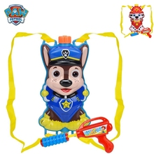 paw patrol toys action figure anime figures Backpack water gun toy pull-out beach play boy gift