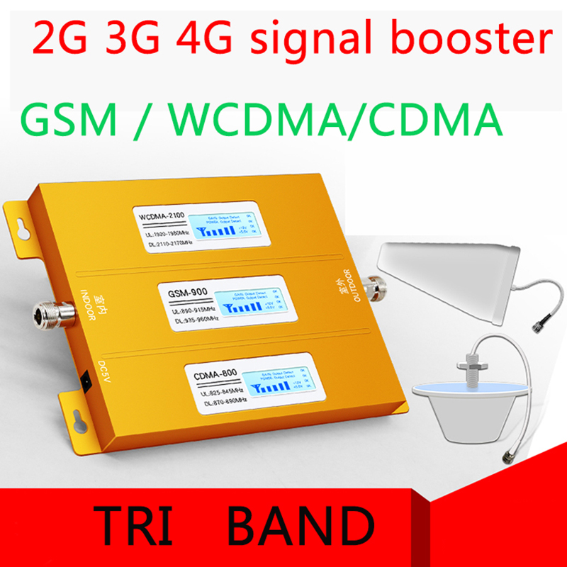 Best-Selling Cellular Signal Booster For Mobile Phone  LCD Display Function Can Show Signal Reception.800 900 1800HZ