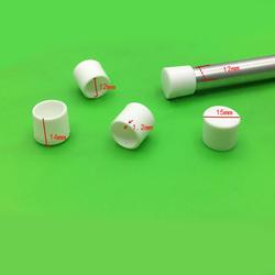 12 мм белая крышка для камеры крышка конец, пластиковая труба вставка конец пустой протектор крышка Пыленепроницаемая сталь woire artiest ног pad