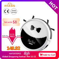 IMASS Robot Vacuum Cleaner Automatic Sweeping Dust Mopping Mobile Home Smart Cleaning Wireless Robotic Automatic Charging