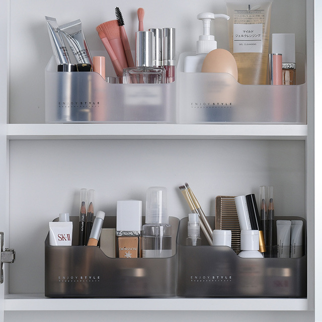 Фото настольная косметическая коробка для хранения губная помада цена