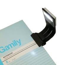 Usb led lampka do czytania książek odpinany zacisk elastyczny latarkoładowarka USB do czytnika e booków WWO66