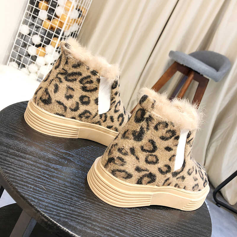 Neue Winter Casual Frauen Stiefel Top Qualität Komfortable Warm Wandern Stiefel Mode Weiche Stiefel Schnee Stiefel Plüsch Futter Stiefel