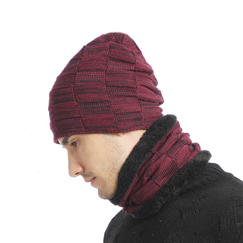 GKGJ Womens Mens Winter Hat Warm Thick Beanie Cap Scarf For Winter Knit Ski Beanies Skull Cap Gifts For Men Women