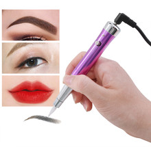 Tattoo Permanent Makeup Pen Machine Eyebrow Makeup Eyebrow Lip Tattoo Machine Swiss Motor Pen Gun(China)