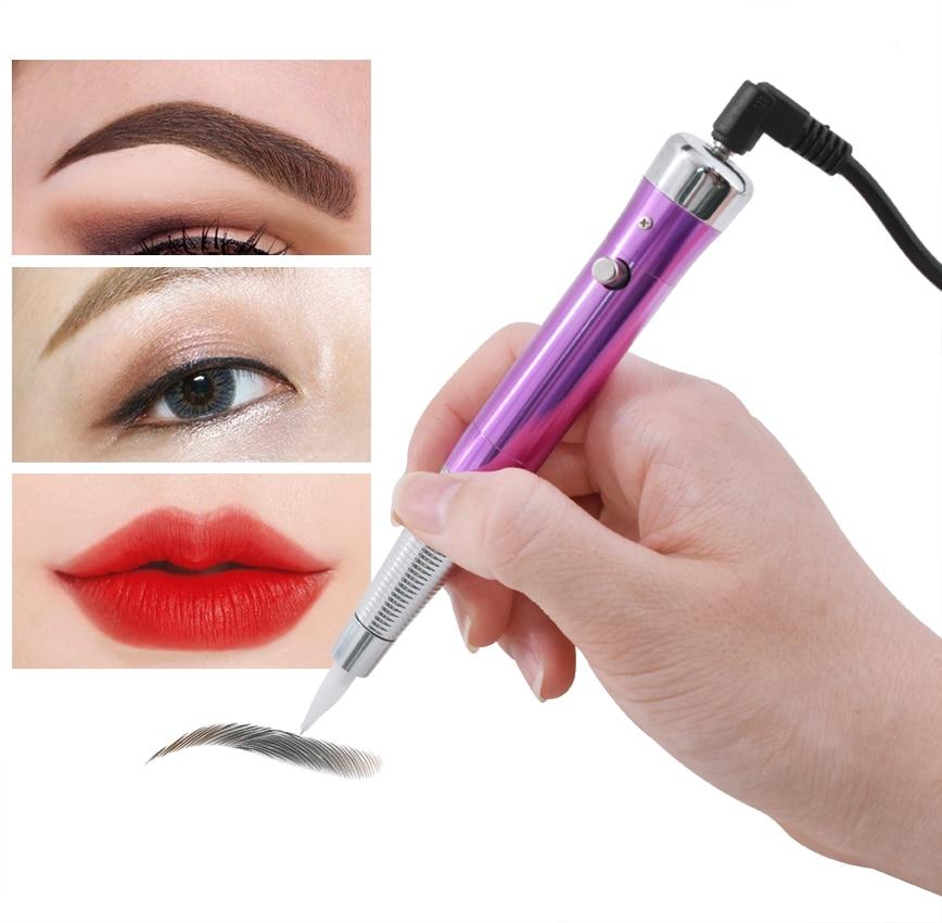 Tattoo Permanent Makeup Pen Machine Eyebrow Makeup Eyebrow Lip Tattoo Machine Swiss Motor Pen Gun