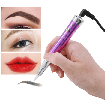 Tattoo Permanent Makeup Pen Machine Eyebrow Makeup Eyebrow Lip Tattoo Machine Swiss Motor Pen Gun недорого