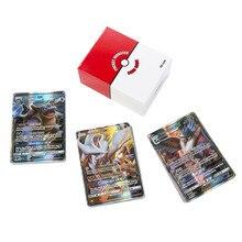 100 Pcs Pokemon Gx Tag Team Shining Game Battle Carte Trading Cards Ex Mega Vmax Serie Geen Herhaling Collectie Kaarten voor Kinderen Speelgoed