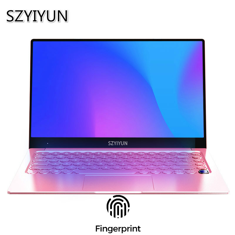 14.1 Inch Intel Laptop NVIDIA GeForce 940M 16G RAM Gaming Notebook Mini Office PC Computer Round Keyboard Student Learn Netbook