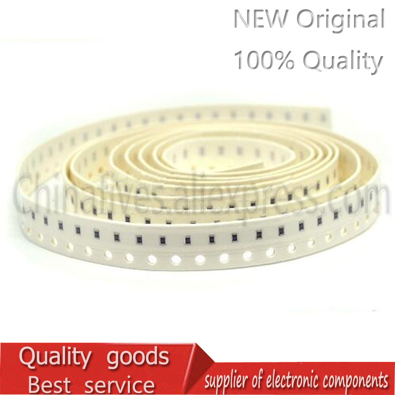 100PCS 1206 Chip Fixed Resistor SMD Resistor 1% 10 Ohm 0.25W 1/4W 10R 10R0