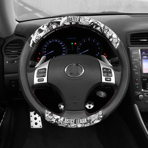 D Shape Car Steering Wheel Cov