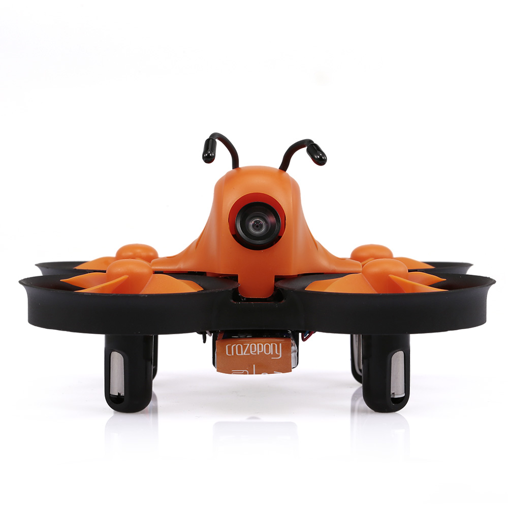 Makerfire <font><b>Drone</b></font> Armor 80 Lite Mini 5.8G 40CH FOV 800TVL Wide-angle <font><b>Drone</b></font> with Camera RC <font><b>FPV</b></font> <font><b>Racing</b></font> RC Quadcopter for Beginner image