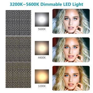 Image 5 - Neewer 1320 LED Luce Video con APP Sistema di Controllo Intelligente, dimmerabile 3200K 5600K Bi Fotografia a Colori Kit di Illuminazione
