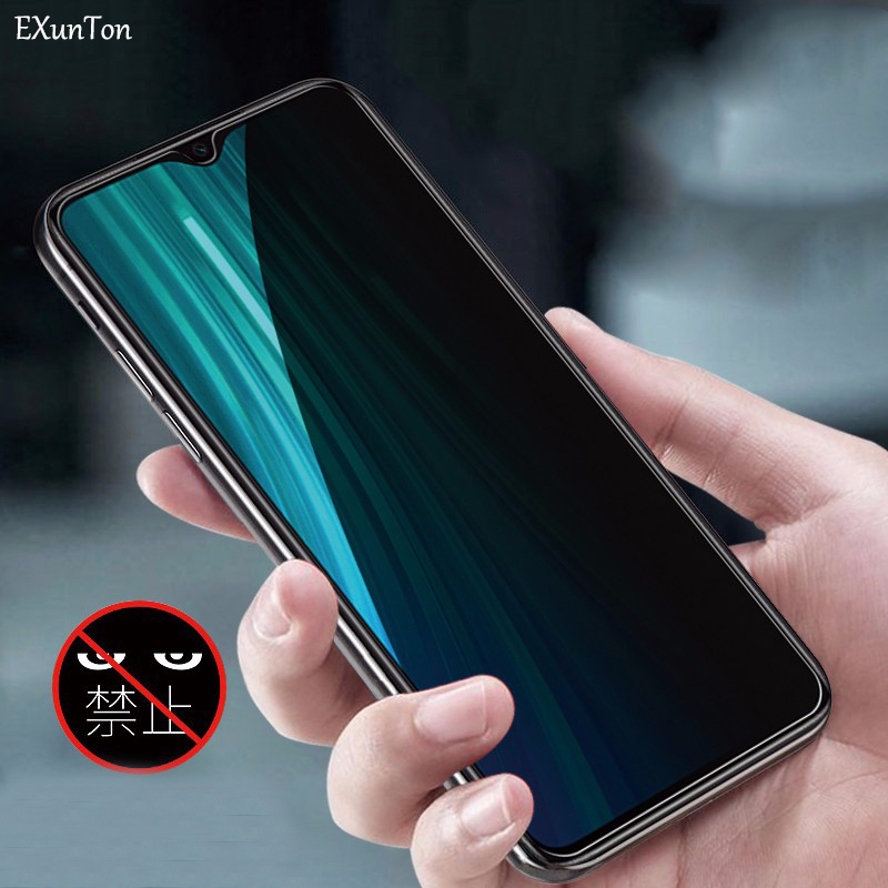 Anti Spy Tempered Glass For Xiaomi Redmi Note 8 Pro Privacy Screen Protector For Redmi Note8 Pro Anti Glare Protective Film