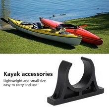 4pcs Canoe Paddle Holder Black Plastic Inflatable Boat Paddle Holder Clip Kayak Canoe Rowing Paddle Holder Easy To Install шапка canoe canoe ca003cmhsrt9