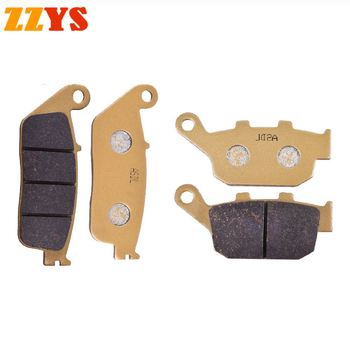Motorcycle Front and Rear Brake Pads For Honda NTV 600 NTV600 Revere XL 600 XL600 VR VT Transalp FMX 650 FMX650 NX 650 NX650 image