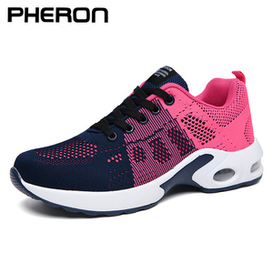 2019 Shoes Woman Air Mesh Cushion Women Fashion Sneakers Plus Size 42 Ladies Damping Sport Shoes Women's Flats Feminin Zapatos