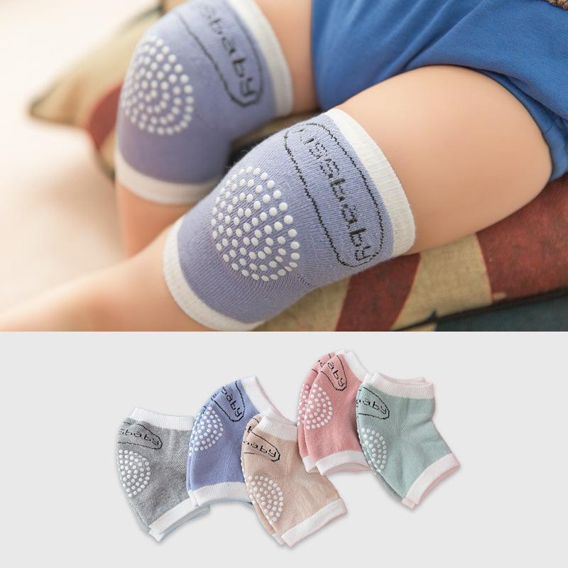 Children Curled Wool Children's Kneelet Elbow Support Summer Baby Crawling Sleeves Dispensing Slip Crawl Leg Warmers