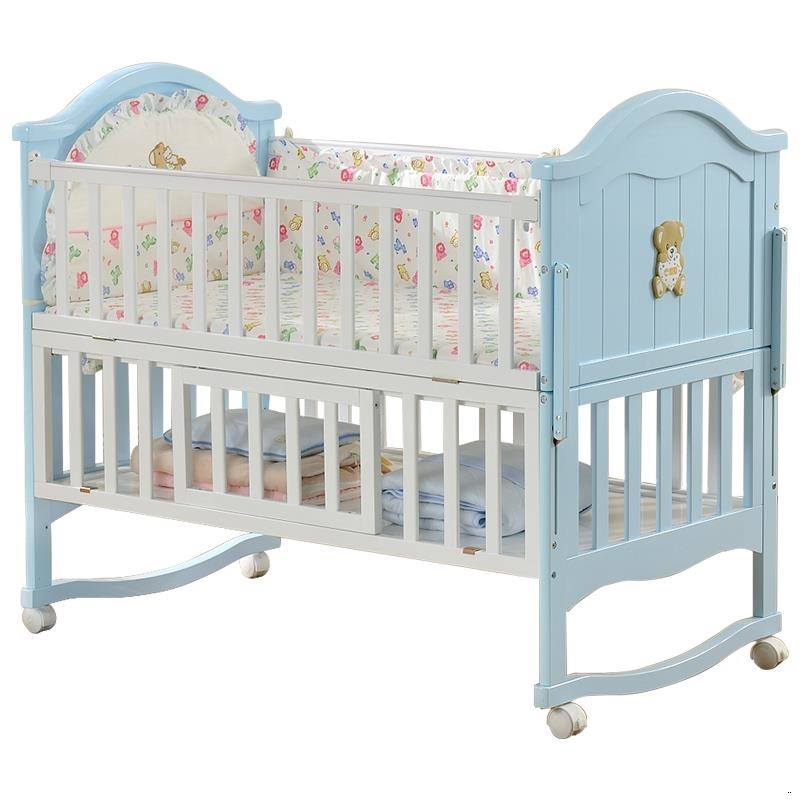 Baby Furniture Ranza Child Cama Individual Lozko Dla Dziecka For Toddler Kinderbed Wooden Chambre Kid Lit Enfant Children Bed