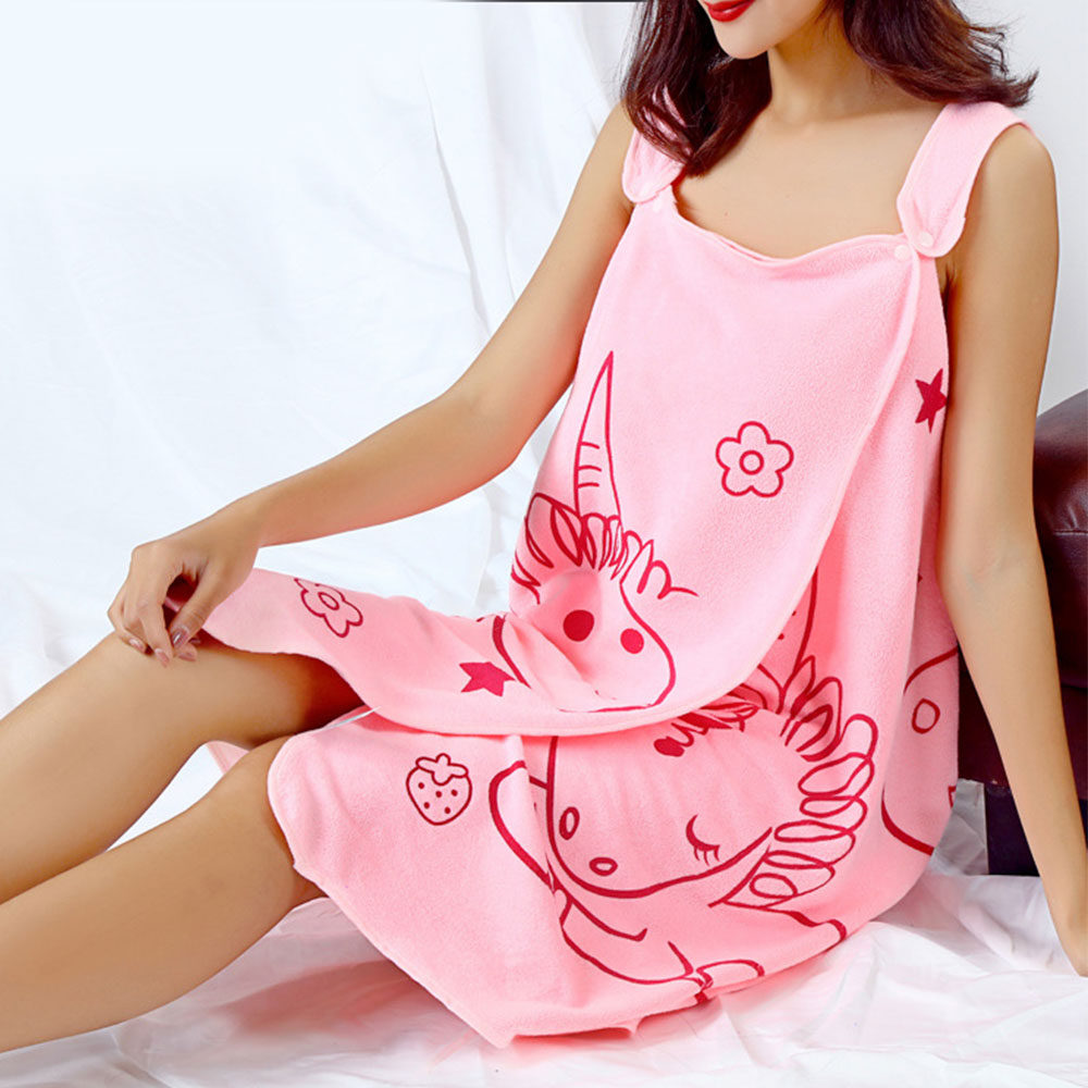 Women Vest Bath Towel Women Kitchen Quick Dry Magic Bathing Towel Sexy Wearable Microfiber Cotton Beach Towels Cover Wrap