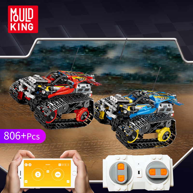 APP Remote Control Car Bricks Legoingly Assemble Racer Model Educational Building Blocks Toys For Children Gift