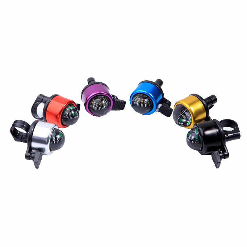 Cycling Bike Bicycle Handlebar Bell Ring Loud Horn Safety Sound Alarm FM