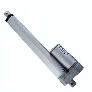 Image 1 - Electric Linear actuator 200mm Stroke linear motor controller dc 12V 24V 100/200/300/400/600/700/900N