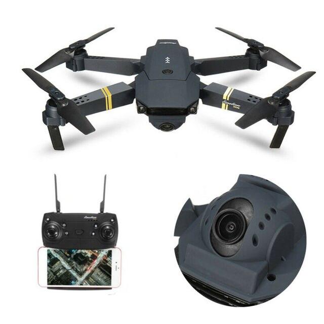 E58 Foldable Drone RC Quadcopter 1080P 5.0MP Camera 2.4GHz WIFI FPV Headless Aircraft Portable Aerial Photography Aircraft 1