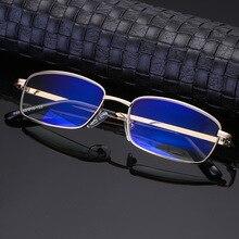 купить High Quality Anti-fatigue Reading Glasses +1.0 1.5 2.0 2.5 3.0 4.0 Degree Full Metal Frame Comfortable Unisex Reading Glasses по цене 524.31 рублей