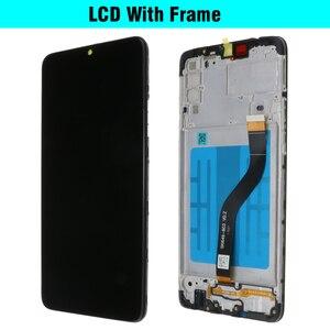 Image 5 - 100% Оригинальный дисплей 6,5 дюйма для SAMSUNG Galaxy A20s, ЖК дисплей с дигитайзером сенсорного экрана и рамкой, замена на модуле, с модулем, для SM A207F