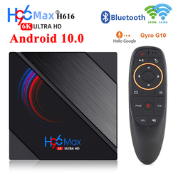 2020 H96 Max Android 10 Tv Box Allwinner H616 4GB 32GB 64GB 6K HD 5G WiFi BoxTv Youtube lecteur multimédia H96MAX décodeur intelligent