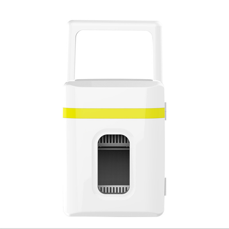 10 Liter Car Refrigerator Mini Cold and Warm Small Refrigerator 10L Car Home Dual use Small Dormitory Car Dual use Refrigerator|Food Processors| |  - title=