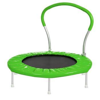 【USA w magazynie】 36 Cal trampolina z uchwytem zielonym meble Dropshipping tanie i dobre opinie Nowoczesne Meble do salonu Szezlong Meble do domu