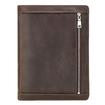 Vintage Leather Case Pouch for iPad Pro 10.5 Air 3 11 2019 Tablet Protector for iPad 9.7 Air 2 Zippered Journal Holder