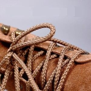 Image 2 - 1 Pair 14 Colors Round Shoelaces Outdoor Sneakers Shoe laces Solid Boots Shoelace length 80cm 100cm 120cm 140cm 160cm Shoestring