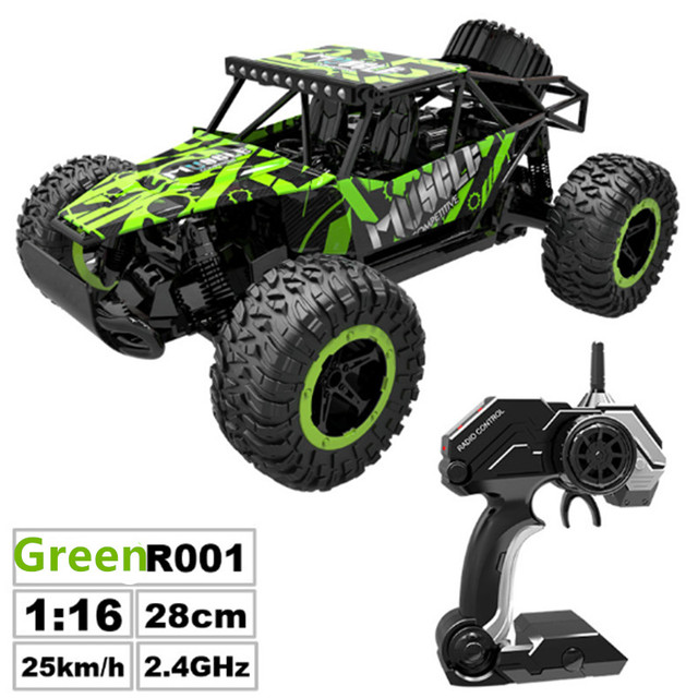 RC Car 2.4G Remote Control Off-road Vehicle Remote Control Cars Climb Buggy Trucks Boys Toys Rechargeable 1:16 4