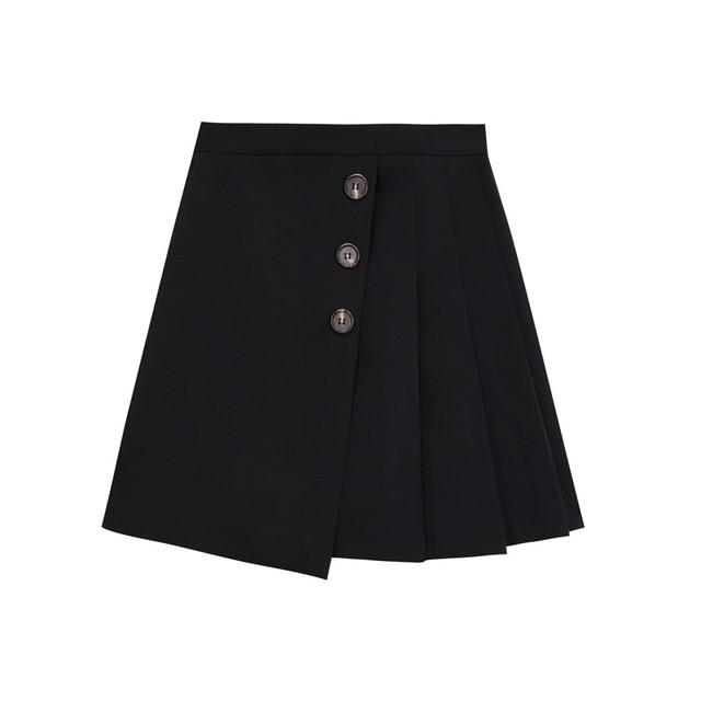 2020  pink skirt  white pleated skirt  white skirt  skater skirt 5