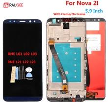 Dành Cho Huawei Nova 2I Màn Hình LCD Hiển Thị Màn Hình Cảm Ứng Thử Nghiệm Tốt Bộ Số Hóa Thay Thế Bảng Điều Khiển Cho Huawei Nova 2i RNE L22/ l01/02/03
